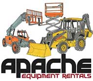 Welcome to Apache Equipment Rentals located in the Phoenix Metro Area