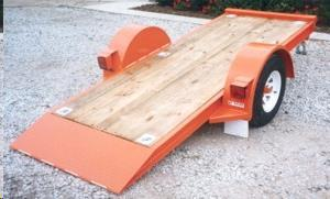 Rent Trailer - Tilt/single/flatbed